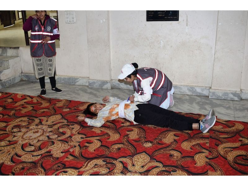 First-Aid competition for YRC members