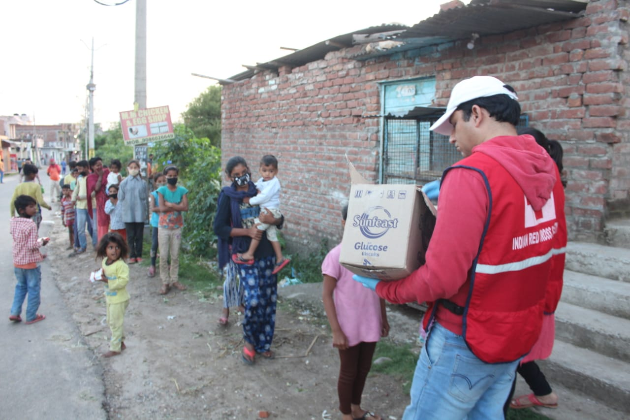Jammu Food distribution