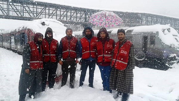 IRCS responds as heavy snowfall disrupts life in Jammu and Kashmir - 22 Feb, 2019